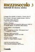 Mezzosecolo. Materiali di ricerca storica, n. 3, Annali 1978/79
