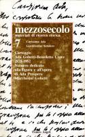 Mezzosecolo. Materiali di ricerca storica, n. 7, Annali 1987-1989
